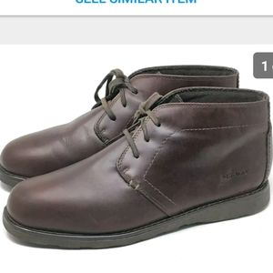 Sebago Ankle Chukka Boots Brown Leather 12